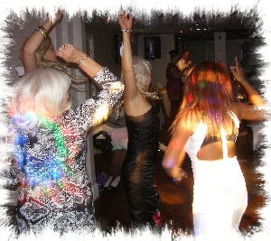 Thamesmead Mobile Disco dancers image