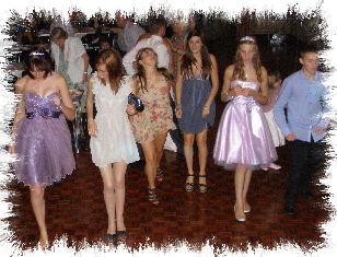 Burham Mobile Disco Dancers At Burham Village Hall