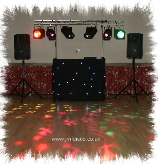Frindsbury Mobile Discos set up image