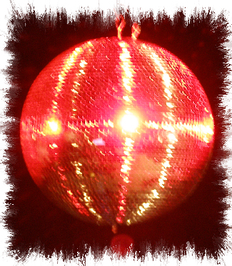 wedding dj services disco ball image