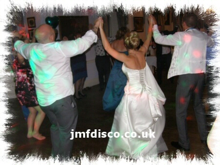 wedding dj ashford party dancers