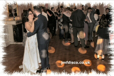 wedding dj sevenoaks first dance image